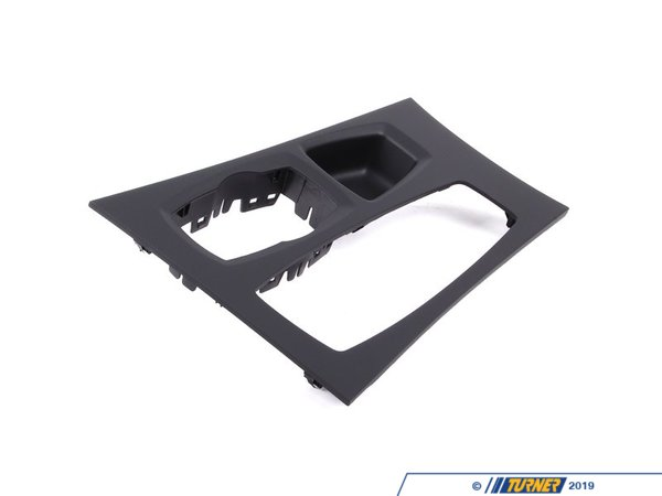 T#87146 - 51169164485 - Genuine BMW Trim Cover, Center Console, - 51169164485 - Schwarz - Genuine BMW -