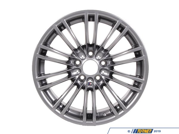"T#13616 - 36102283551 - Genuine BMW 18"" M Double Spoke Style 219 Alloy Wheel - E28 E34 E38 E46 E60 E82/88 E9X F10 Z3 Z4 - Upgrade the look of your BMW with this Style 219 alloy wheel.