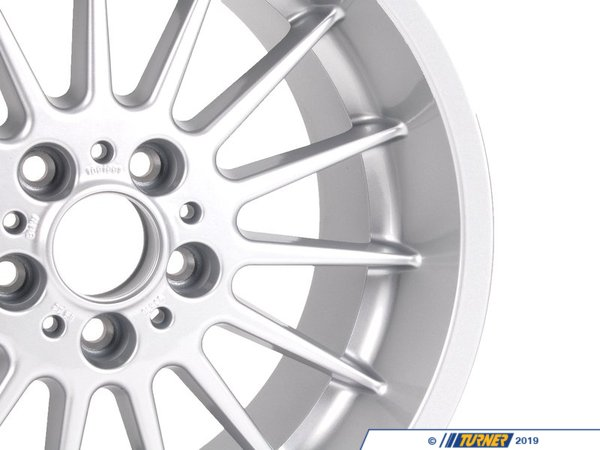 T#65278 - 36111091991 - Genuine BMW Light Alloy Rim 9Jx18 Et:22 - 36111091991 - E38 - Genuine BMW -