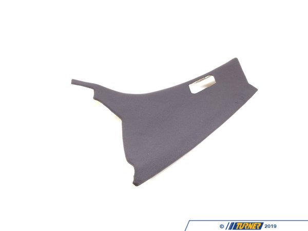 T#16121 - 51432258112 - Genuine BMW Trim Panel Column, Rear Righ 51432258112 - Anthrazit - Genuine BMW -