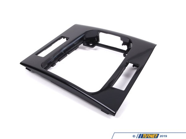 Genuine BMW Genuine BMW Center Console Trim - Schwarz/Black - E46 323Ci 325Ci 328Ci 330Ci M3 51168234716
