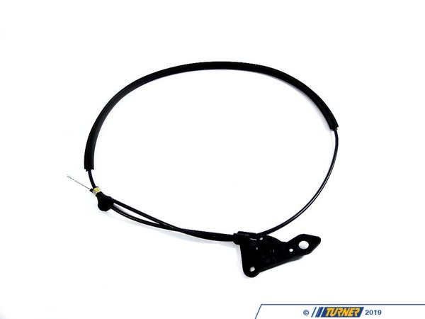 T#9347 - 51231960853 - Hood Release Cable - E36 318i 325i 328i M3 Sedan - Genuine BMW - BMW