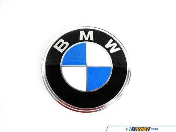 T#16069 - 51141872969 - Genuine BMW Trunk Badge E28 E30 Z3 - 51141872969 - GENUINE BMW TRUNK LID BADGE - Genuine BMW -