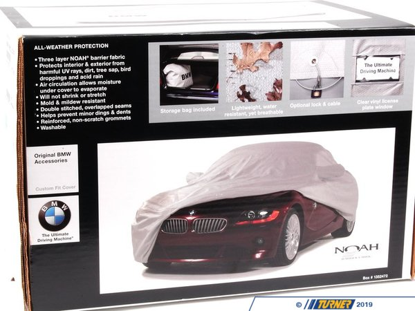 T#5590 - 82112157090 - Genuine BMW Car Cover - E89 - Z4 sDrive30i Z4 sDrive35i Z4 sDrive35is - Genuine BMW - BMW