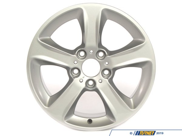 T#66332 - 36116765346 - Genuine BMW Light Alloy Rim 7Jx17 Et: 47 - 36116765346 - E46 - Genuine BMW -