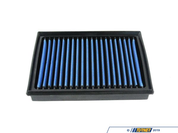 "T#1708 - 30-10015 - aFe Pro5R Air Filter - E36, E46, E34, E39, Z3, Z4 6 cylinder - This is a drop-in stock replacement aFe performance air filter that installs into your BMW's factory airbox.This version uses aFe's highest flowing filter media, which uses a lightly oil gauze to filter out dirt and particulates, while allowing more air to flow to the intake. For the best flowing filter, with the best performance gain, we always recommend this standard aFe filter media (often called ""Pro5R "", which has a blue pre-oiled filter media). We also carry this filter in the ""ProDry"" grey filter media, which is oil-free for only slightly less performance and no maintenance.Fits the following BMWs:E36323i 323is 323ic 325i 325is 325ic 328i 328is 328ic M3 1992-1998E46323i 323ci 325i 325ci 325xi 328i 328ci 330i 330ci 330xi M3 1999-2005E39525i 528i 530i 1997-2003E83X3 2.5i X3 3.0i 2004-2006Z3 2.3 2.5 2.8 3.0 1997-2002E85 Z4 2.5i Z4 3.0i M54 engine 2004-2006 - AFE - BMW"