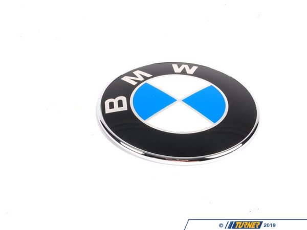 T#12180 - 51147200474 - BMW Trunk Emblem - E89 Z4 2009+ - Genuine BMW - BMW