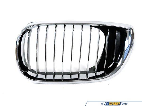 T#8677 - 51137042961 - Genuine BMW Grille Left Chrom - 51137042961 - E46 - Genuine BMW Grille Left - ChromThis item fits the following BMW Chassis:E46 - Genuine BMW -