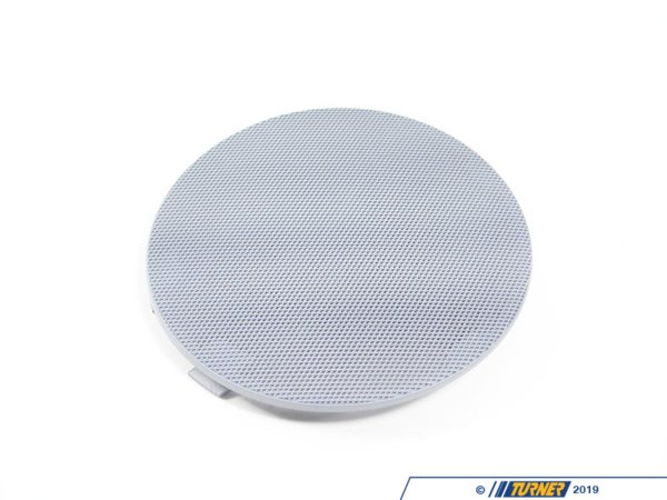 T#98409 - 51418224378 - Genuine BMW Cover Loudspeaker Right Grau - 51418224378 - E46 - Genuine BMW -