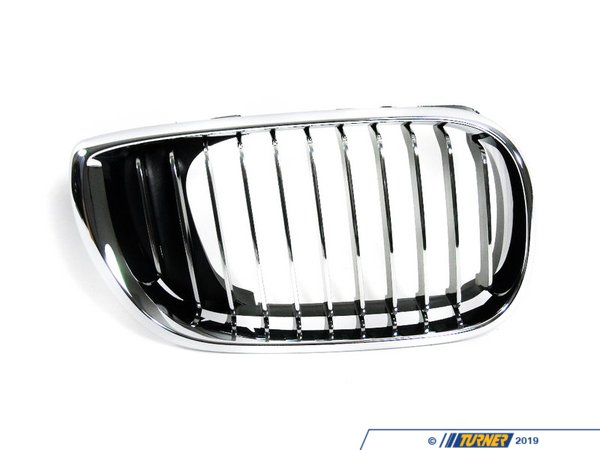 T#8678 - 51137042962 - Genuine BMW Grille Right Chrom - 51137042962 - E46 - Genuine BMW Grille Right - ChromThis item fits the following BMW Chassis:E46 - Genuine BMW -