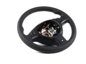 E46 M3 Steering Wheel (Fits All E46 w/ Round Sport Airbag)