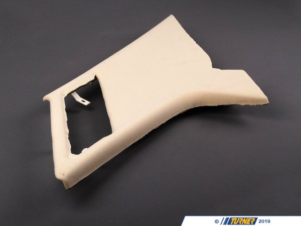 T#105003 - 51438255974 - Genuine BMW Trim Panel Column, Rear Righ - 51438255974 - Pearlbeige - Genuine BMW -