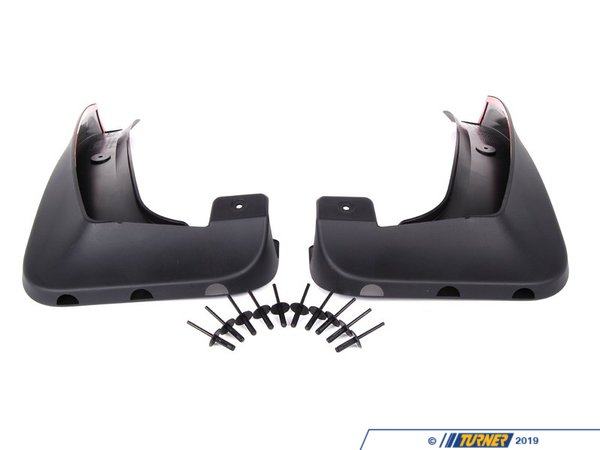 T#11421 - 82160149311 - Genuine BMW Set Mud Flaps, Front - 82160149311 - E83 - Genuine BMW -
