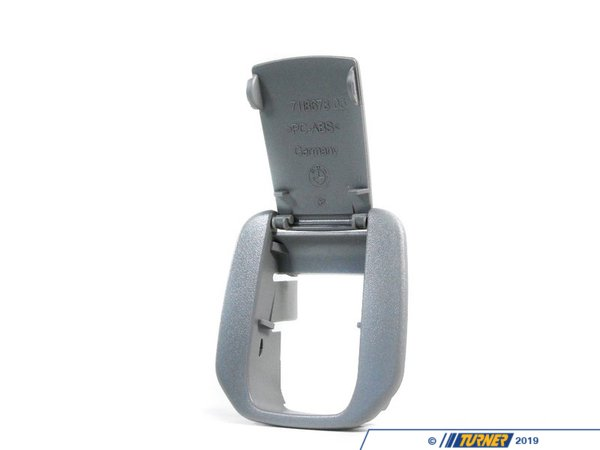 T#130203 - 52207152209 - Genuine BMW Cover Isofix Grau - 52207152209 - E90 - Genuine BMW -
