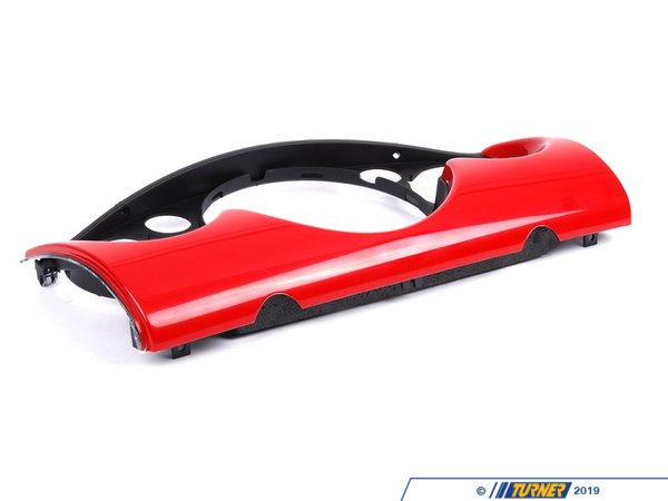 T#108656 - 51459141920 - Genuine MINI Cover Dashboard, Center Chili Red - 51459141920 - Genuine Mini -