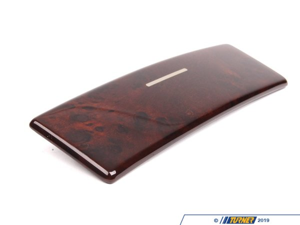 T#86345 - 51168253127 - Genuine BMW Wooden Covers, Can Holder Re - 51168253127 - Genuine BMW -