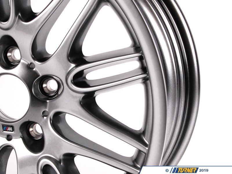36112228950 E39 M5 18x8 0 M Double Spoke Style 65 Front Wheel Turner Motorsport