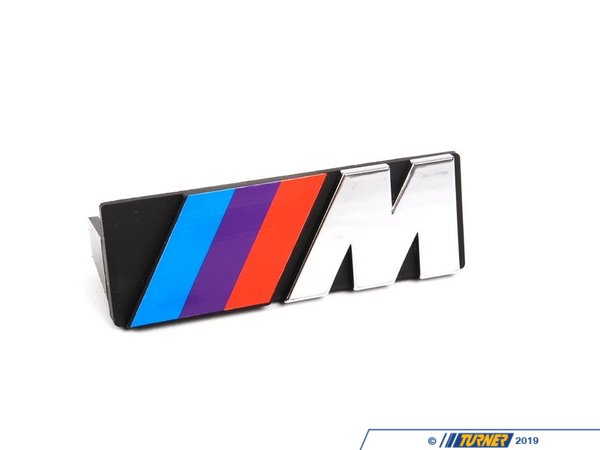 Genuine BMW Motorsport Grill Emblem - Fits all E30s 72601933569