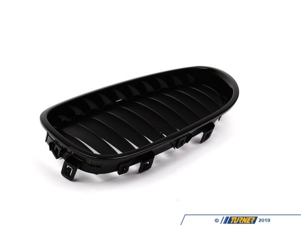 T#5100 - 51712155447 - BMW Performance Black Grill Left - E60 - Genuine BMW -