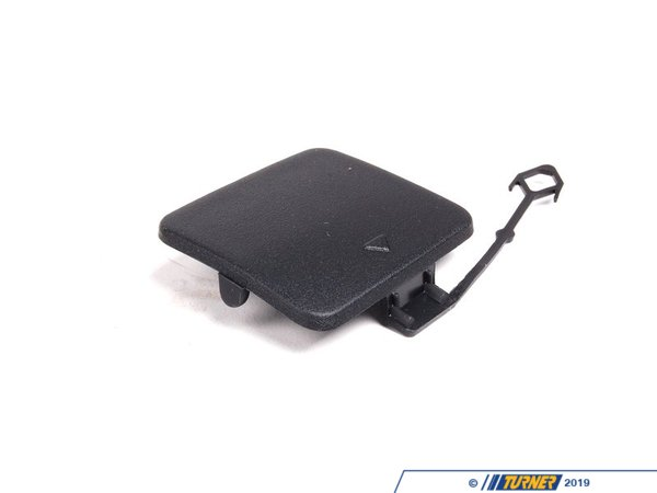 T#78367 - 51127158447 - Genuine BMW Flap, Towing Eye Left Schwarz Genarbt - 51127158447 - E70 - Genuine BMW -
