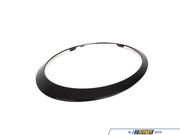 T#79652 - 51132254740 - Genuine MINI Trim Ring, Headlight, Right Jet Black - 51132254740 - Genuine Mini -