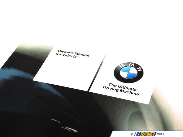 T#26212 - 01402607049 - Genuine BMW Owner's Manual For E92, E93 - 01402607049 - Genuine BMW -