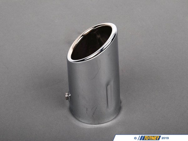 Genuine BMW Genuine BMW Exhaust Pipe Extension Chrome 55X65 mm - 82129410928 - E46 82129410928