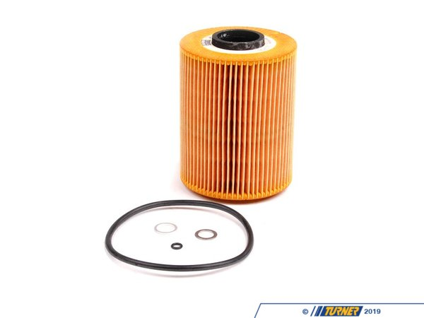 T#6835 - 11421730389 - Oil Filter - E36 325i, E34 525i M50 Engine - Mann -