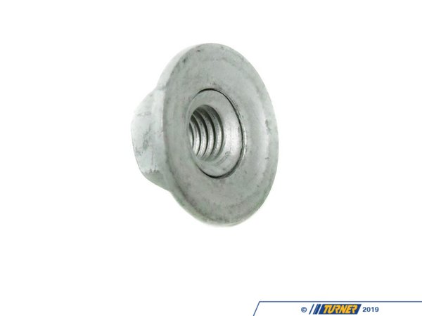 T#12356 - 51117070183 - Genuine BMW Trim Hex Nut With Plate 51117070183 - Genuine BMW -