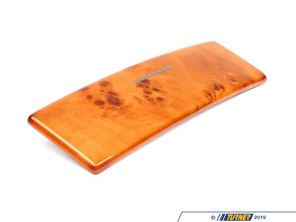 T#86344 - 51168253126 - Genuine BMW Poplar Wooden Cover, Can Hol - 51168253126 - Genuine BMW -