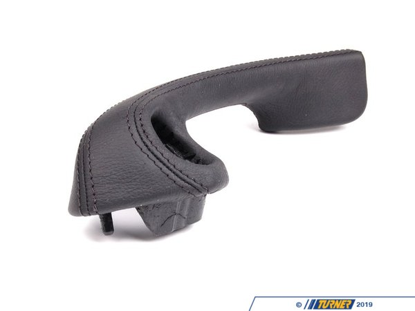 T#98736 - 51418401173 - Genuine BMW Left Leather Handle Schwarz - 51418401173 - Genuine BMW -