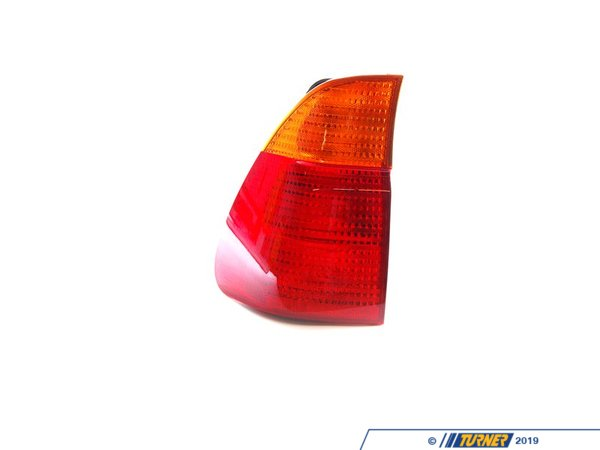 T#4782 - 63217158391 - Tail Light - Left - E53 X5 3.0i, 4.4i, 4.6is, 2000-10/2003 - This is the left (drivers side ) tail light assembly for E53 X5 models. It has the standard amber turn signal color.  This item fits the following BMWs:2000-10/2003  E53 BMW X5 3.0i X5 4.4i X5 4.6is - Genuine BMW - BMW