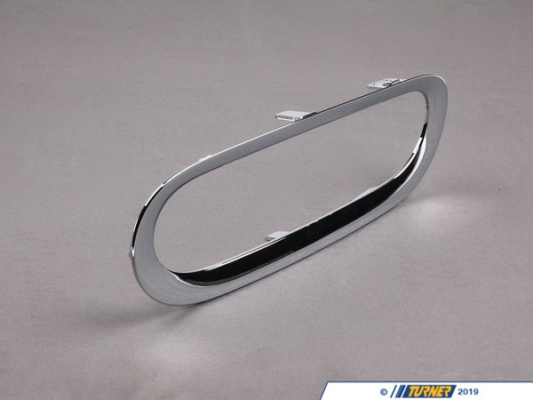 T#77994 - 51122753653 - Genuine MINI Trim Ring Chrom - 51122753653 - Genuine MINI -