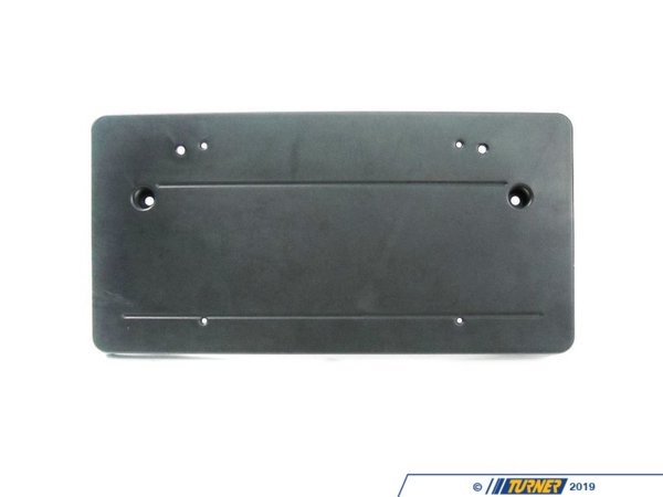 T#8442 - 51118408184 - Genuine BMW Front License Plate Bracket - E53 X5 2000-2003 - This Genuine BMW front bumper license plate bracket facilitates the mounting of a US style plate to the front of an E53 X5. This item fits the following BMWs:2000-2003 E53 BMW X5 3.0i X5 4.4i X5 4.6is - Genuine BMW - BMW