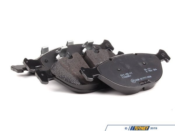 T#15850 - 34116761282 - Genuine BMW Repair Kit, Brake Pads Asbestos-Free - 34116761282 - E53 - Genuine BMW -