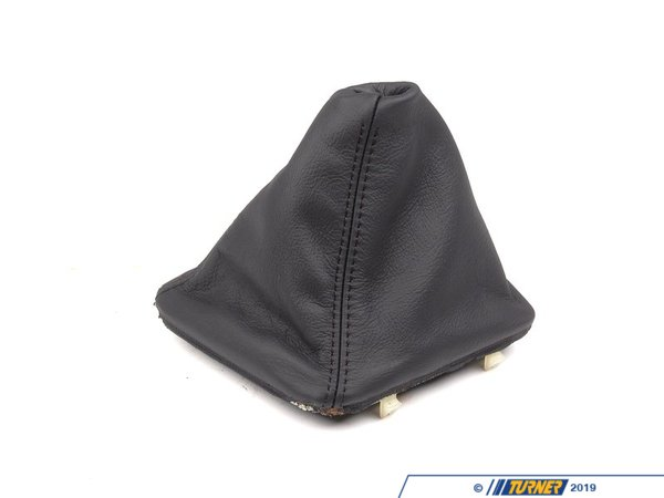 Genuine BMW Genuine BMW Leather Boot Walk-Nappa Schwarz - 25111434324 25111434324