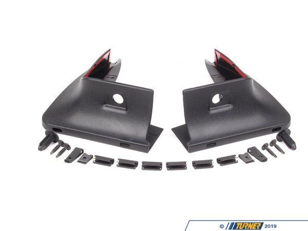 T#11431 - 82160415114 - Genuine MINI Set Mud Flaps, Front R56/R55 - 82160415114 - Genuine MINI -