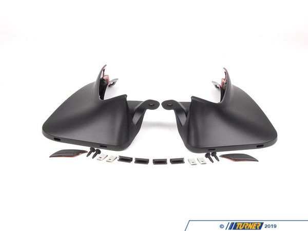 T#24927 - 82160415116 - Genuine MINI Set Mud Flaps, Rear R56 Cooper S - 82160415116 - Genuine Mini -