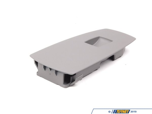 T#96001 - 51413415811 - Genuine BMW Switch Cover, Front Passenger - 51413415811 - Gray - Genuine BMW - BMW