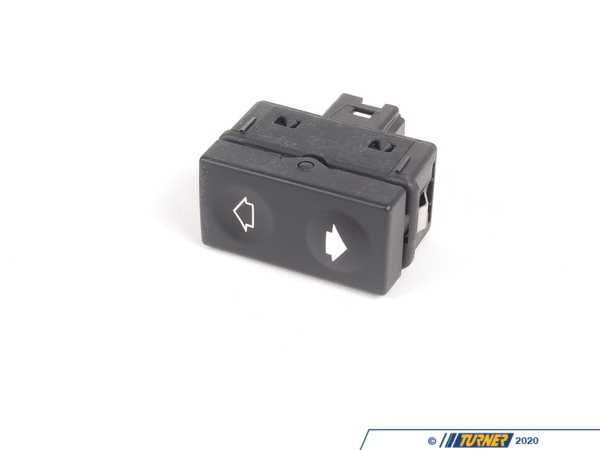 MTC MTC Window Switch with Tip Function (Black Terminal Housing) - E36 61311387387