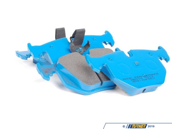 T#25008 - TMS25008 - Hawk Blue Race Brake Pads - Rear - E38, E39, E46, E60, X3, X5, Z4 M, Z8 (see description) - Hawk - BMW