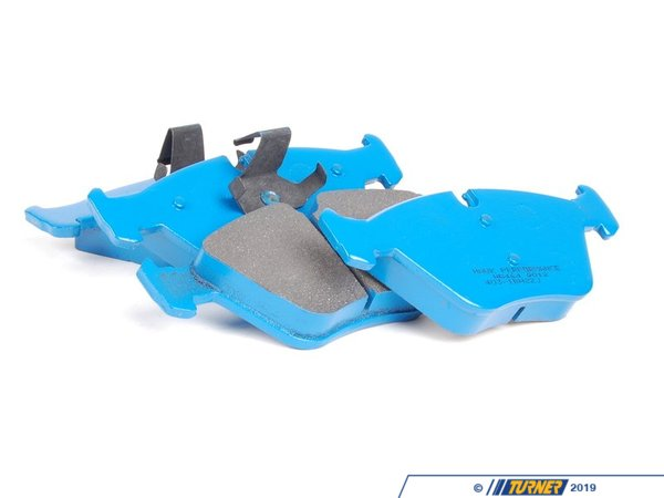 T#25012 - TMS25012 - Hawk Blue Race Brake Pads - Front - E46 330/M3, X3, Z4, Z4 M - Hawk - BMW