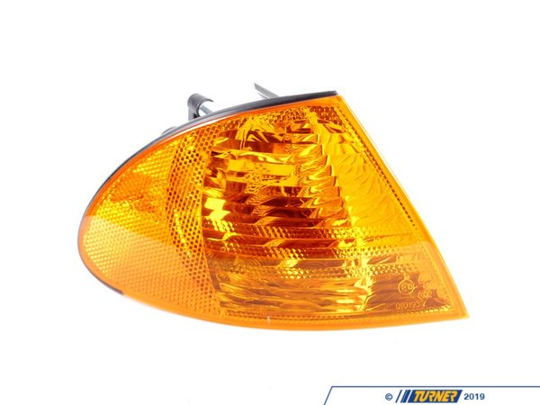 T#12409 - 63136902766 - Front Right Turn Signal - Amber - E46 323i 325i 328i 330i Sedan  - Genuine BMW - BMW