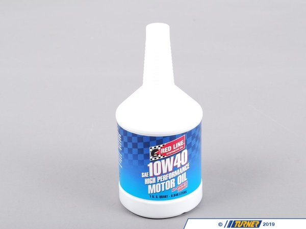 T#1081 - 1-MT10W40-Q - Red Line 10W-40 Synthetic Engine Oil - Redline -