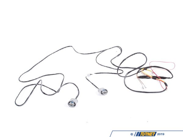 T#14003 - 61129410798 - Genuine BMW Electrical Wiring Set Fog Lights 61129410798 - Genuine BMW -
