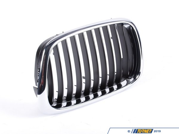 T#25285 - 51137005837 - Genuine BMW Grille Left Schwarz - 51137005837 - E39 - Genuine BMW -