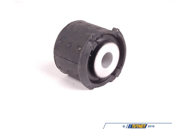 T#12734 - 33316770781 - OEM Lemforder Rear Subframe Mount (Rear Mount) - E46 non-M - Exposure to the elements and stress/pressure can lead to failing and splitting subframe bushings. Ensure your subframe is mounted perfectly steady to prevent vibrations, knocks, suspension issues, and potential damage to the body of the vehicle or suspension components. OEM Lemforder is the perfect replacement to make sure that everything is mounted properly.OEM Lemfrder is an engineering company that focuses on high-quality, precision manufacturing of critical suspension and steering components. Providing exceptionally high quality parts directly to BMW, as well as 50+ other big name automotive companies, such as Mercedes and Audi, their history of reliability and variety of offered parts makes them one of the biggest names for a go-to OEM parts provider. Lemfrder parts place an important emphasis on design, production, and assembly, ensuring maximum reliability. They even coat all parts possible with corrosion protection for extended longevity.As a leading source of high performance BMW parts and accessories since 1993, we at Turner Motorsport are honored to be the go-to supplier for tens of thousands of enthusiasts the world over. With over two decades of parts, service, and racing experience under our belt, we provide only quality performance and replacement parts. All of our performance parts are those we would (and do!) install and run on our own cars, as well as replacement parts that are Genuine BMW or from OEM manufacturers. We only offer parts we know you can trust to perform! - Lemforder - BMW