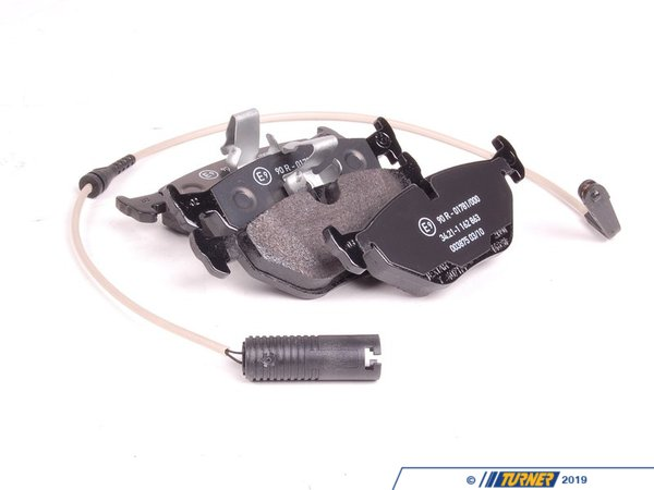 T#62130 - 34212157591 - Genuine BMW Set Of Brake Pads With Wear - 34212157591 - Genuine BMW -