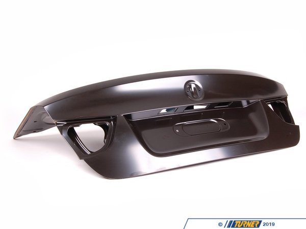 T#25260 - 41627254425 - Genuine BMW Trunk Lid Without Lock Assembly Hole - 41627254425 - E90 - Genuine BMW -