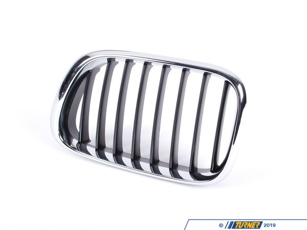 T#8809 - 51138402645 - Genuine BMW Grille, Front, Left - 51138402645 - E53 - Genuine BMW Grille, Front, Left - This item fits the following BMW Chassis:E53 X5 - Genuine BMW -